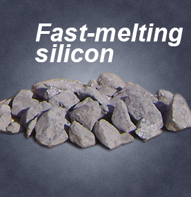 Fast-melting silicon